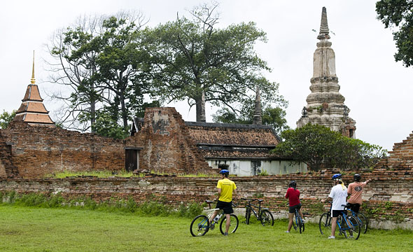 The Old Capital Ayutthaya